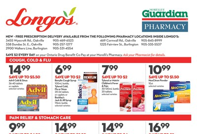 Longo's Pharmacy Flyer November 27 to December 31