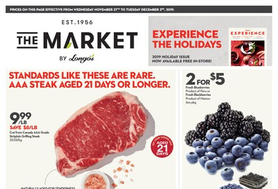 The Market by Longo's Flyer November 27 to December 3