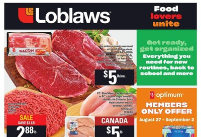 Loblaws (ON) Flyer August 27 to September 2