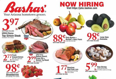 Bashas (AZ) Weekly Ad August 26 to September 1