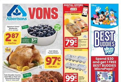 Albertsons Weekly Ad August 26 to September 1