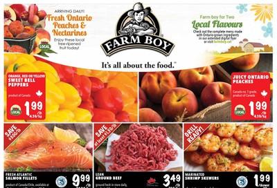 Farm Boy Flyer August 27 to September 2