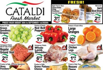 Cataldi Fresh Market Flyer August 26 to September 1