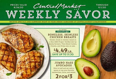 Central Market Weekly Ad August 26 to September 1