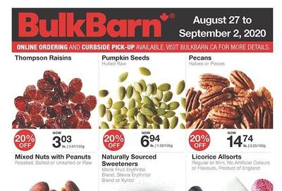 Bulk Barn Flyer August 27 to September 2