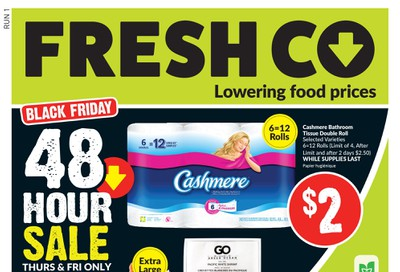 FreshCo (ON) Flyer November 28 to December 4