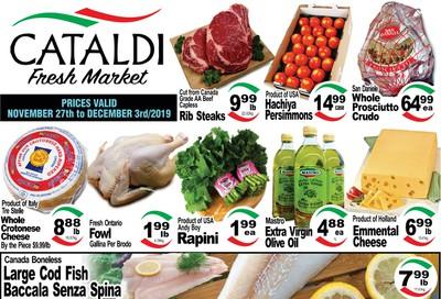 Cataldi Fresh Market Flyer November 27 to December 3