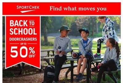 Sport Chek Flyer August 27 to September 9