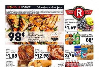 Redner's Markets Weekly Ad August 27 to September 2