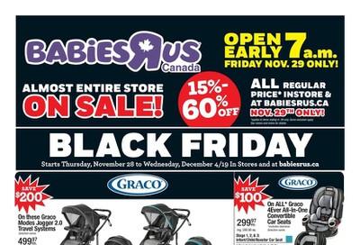 Babies R Us Black Friday Flyer November 28 to December 4, 2019