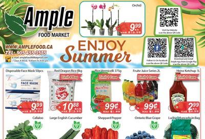 Ample Food Market Flyer August 28 to September 3