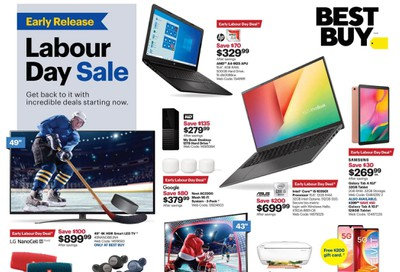 Best Buy Flyer August 28 to September 3