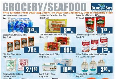 Blue Sky Supermarket (Pickering) Flyer August 28 to September 3