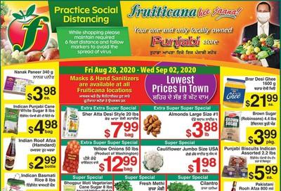 Fruiticana (Calgary) Flyer August 28 to September 2