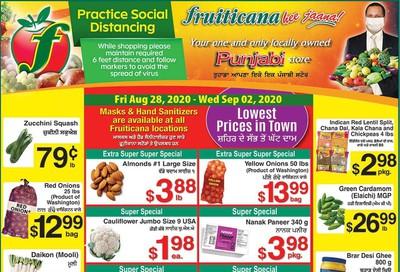 Fruiticana (Edmonton) Flyer August 28 to September 2