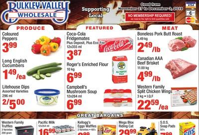 Bulkley Valley Wholesale Flyer November 27 to December 3
