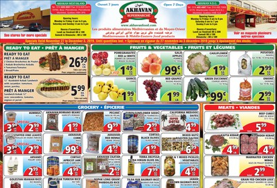 Akhavan Supermarche Flyer November 27 to December 3