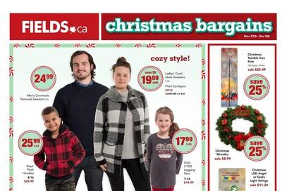 Fields.ca Flyer November 27 to December 8
