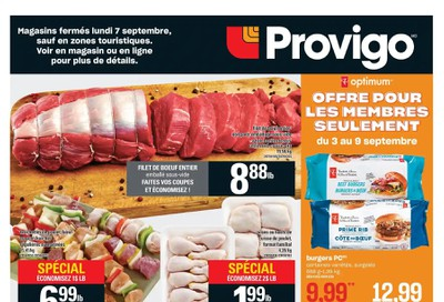 Provigo Flyer September 3 to 9