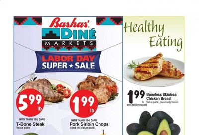 Bashas' (AZ, NM) Weekly Ad September 2 to September 8