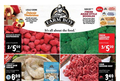 Farm Boy Flyer September 3 to 9