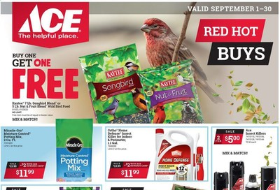 ACE Hardware Weekly Ad September 1 to September 30