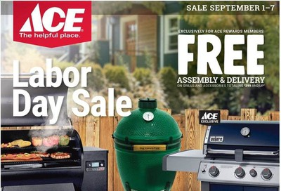 ACE Hardware Weekly Ad September 1 to September 7