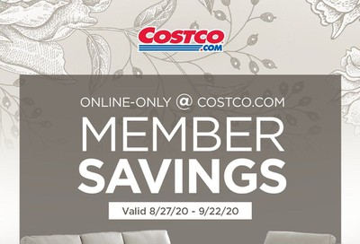 Costco Weekly Ad August 27 to September 22