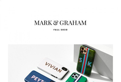 Mark and Graham Catalog 2020-2021
