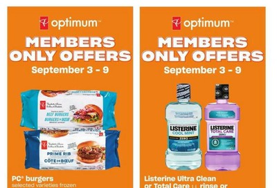 Loblaws City Market (West) Flyer September 3 to 9