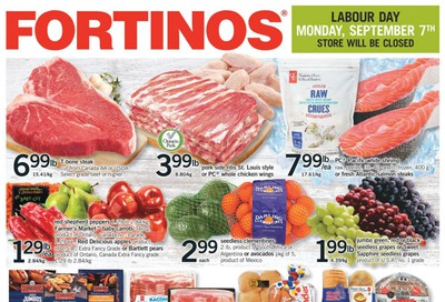 Fortinos Flyer September 3 to 9