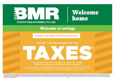 BMR Flyer September 2 to 8