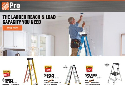 The Home Depot Weekly Ad August 31 to September 7