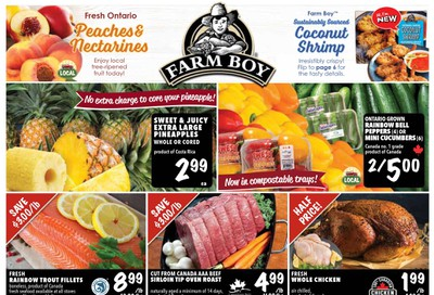 Farm Boy Flyer September 12 to 18