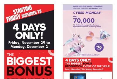 Shoppers Drug Mart (West) Flyer November 30 to December 6