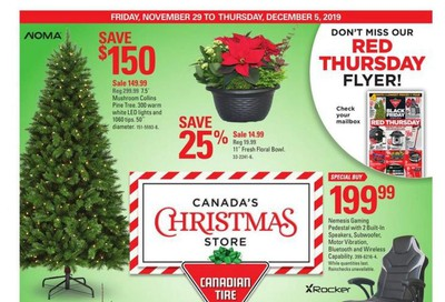 Canadian Tire (ON) Flyer November 29 to December 5