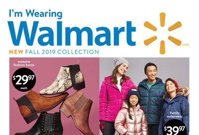 Walmart Fall 2019 Collection Flyer September 12 to October 9