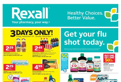 Rexall (West) Flyer November 29 to December 5