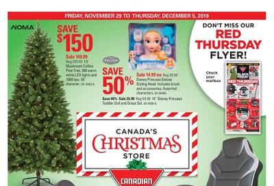 Canadian Tire (West) Flyer November 29 to December 5