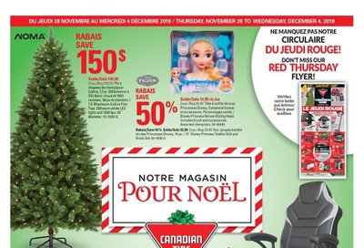 Canadian Tire (QC) Flyer November 28 to December 4