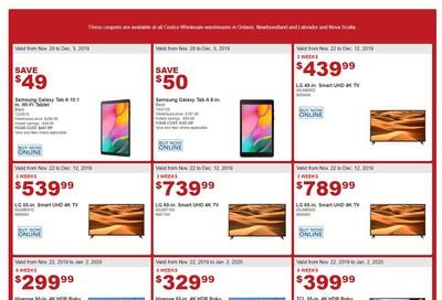 Costco (ON & Atlantic) Black Friday Savings November 28 to December82