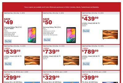 Costco (BC, AB, SK & MN) Black Friday Savings November 28 to December 8