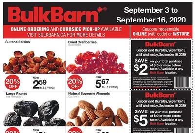 Bulk Barn Flyer September 3 to 16