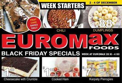 EuroMax Foods Flyer November 28 to December 4