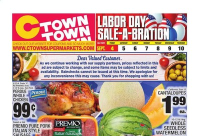 C-Town Weekly Ad September 4 to September 10