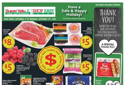 Shop Easy & SuperValu Flyer September 4 to 10