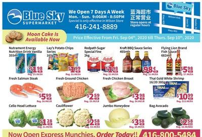 Blue Sky Supermarket (North York) Flyer September 4 to 10