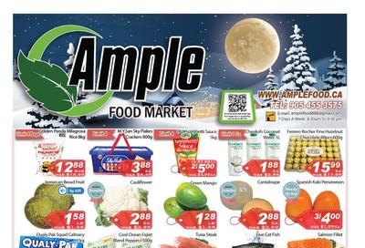 Ample Food Market Flyer November 29 to December 5