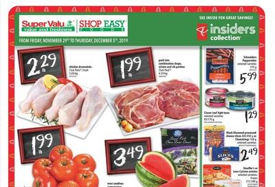 Shop Easy & SuperValu Flyer November 29 to December 5