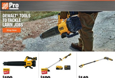 The Home Depot Weekly Ad September 7 to September 14